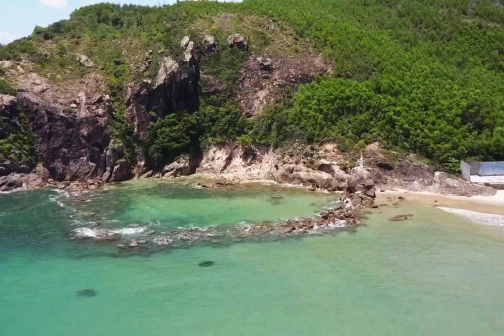 Biển Bãi Bàu quy nhơn